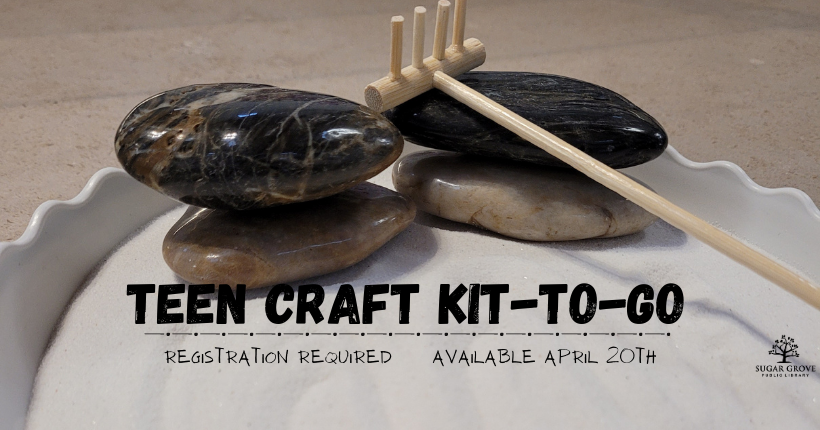 Teen Craft Kit To Go Apr 2021